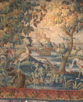 Aubusson tapestry France early 18th c. 8'10